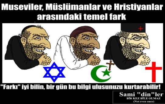 """""""E hadi İslam pislik de Hristiyanlık daha mı iyi?"""" ve başka bahaneler"""