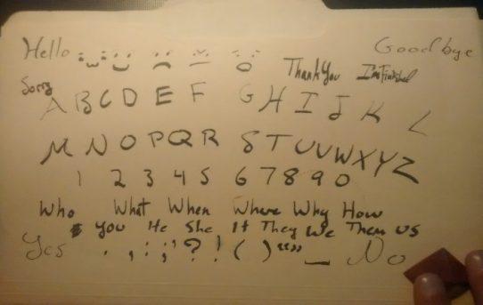 Ouija Tahtası Kullanma